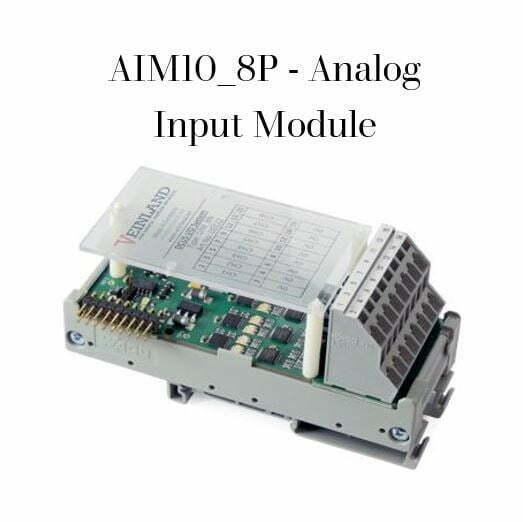 AIM10_8P - Analog Input Module Code VEL-0011
