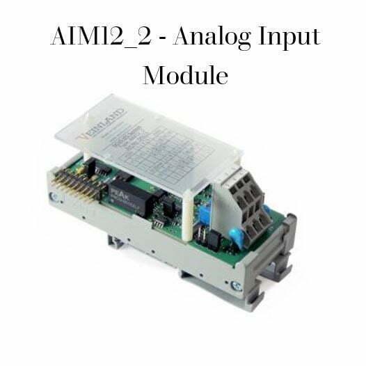 AIM12_2 - Analog Input Module Code VEL-0006