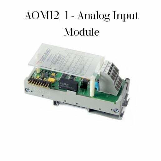AOM12_1 - Analog Input Module Code VEL-0005