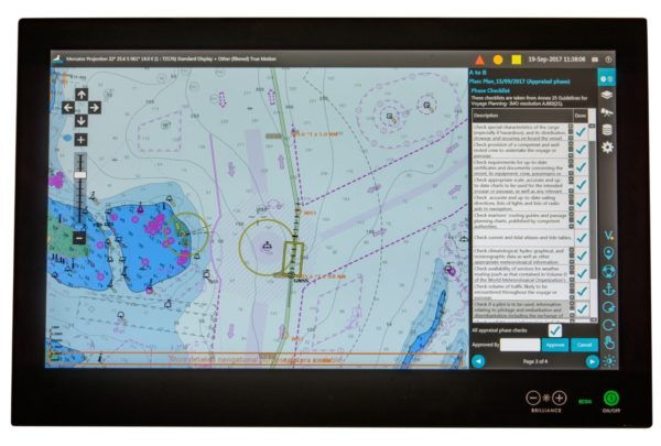 Seall ECDIS Screenshot with AMI Marine
