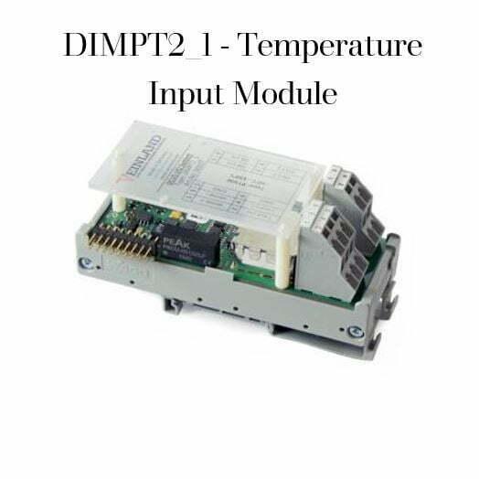 DIMPT2_1 - Temperature Input Module Code VEL-0004