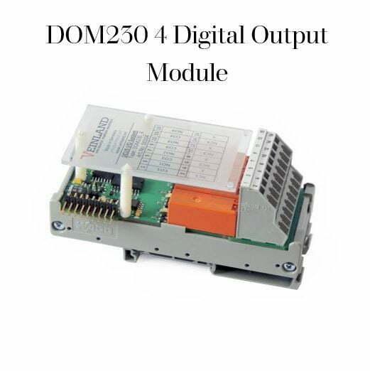 DOM230 4 Digital Output Module VEL-0003