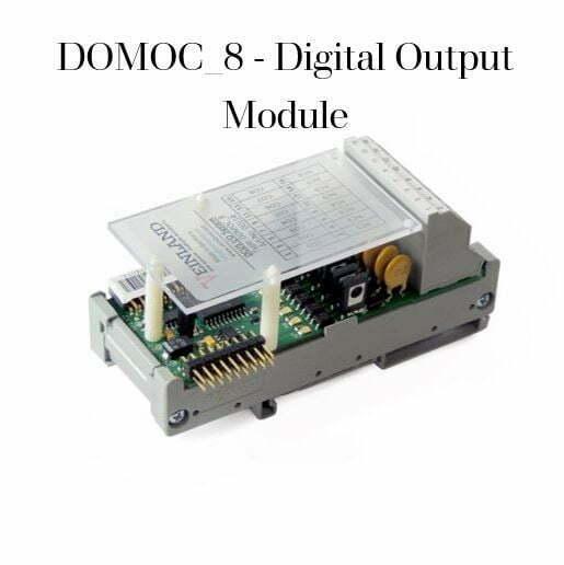 DOMOC_8 - Digital Output Module SKU VEL-0007