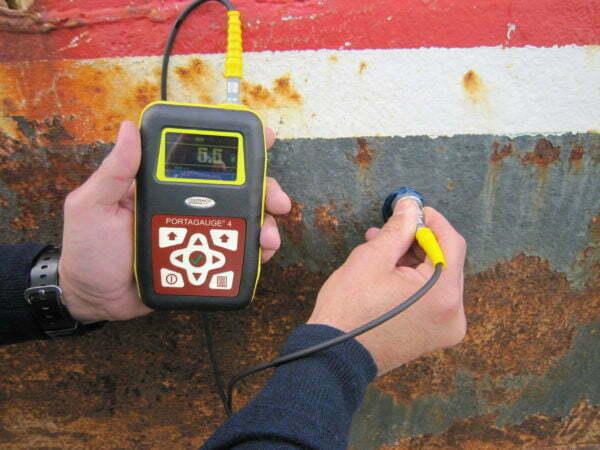 Portagauge® 4 - Portable Ultrasonic Triple Echo Thickness Gauge