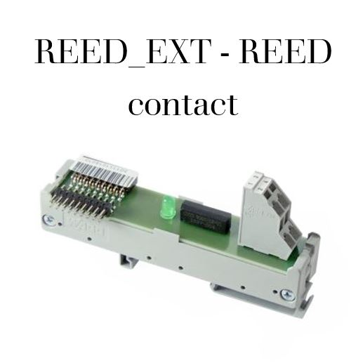 REED_EXT - REED contact Code VEL-0008