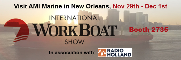 AMI MARINE AT NEW ORLEANS INTERNATIONAL WORKBOAT SHOW 2017