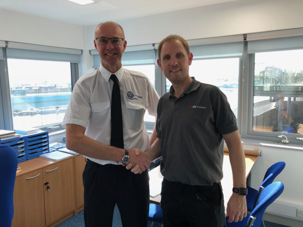 Ryan, Harbour Master at Lymington Harbour & Martin, Company Director at AMI Marine