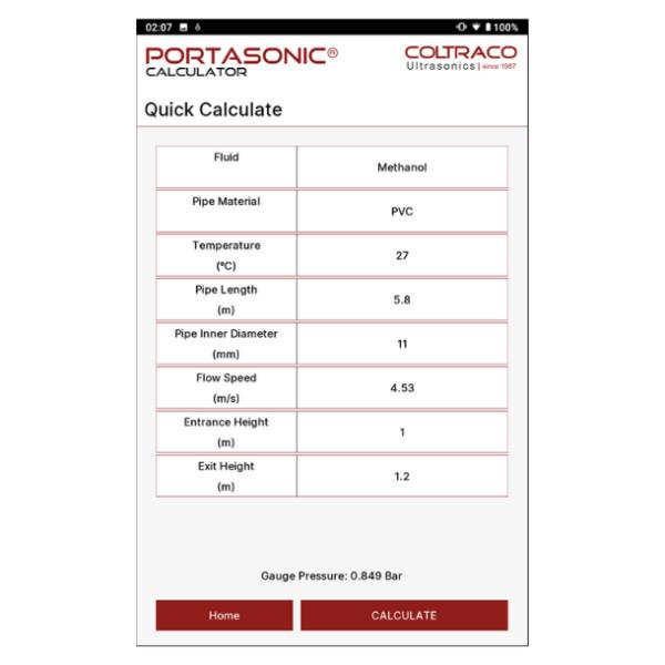 Portasonic® CALCULATOR