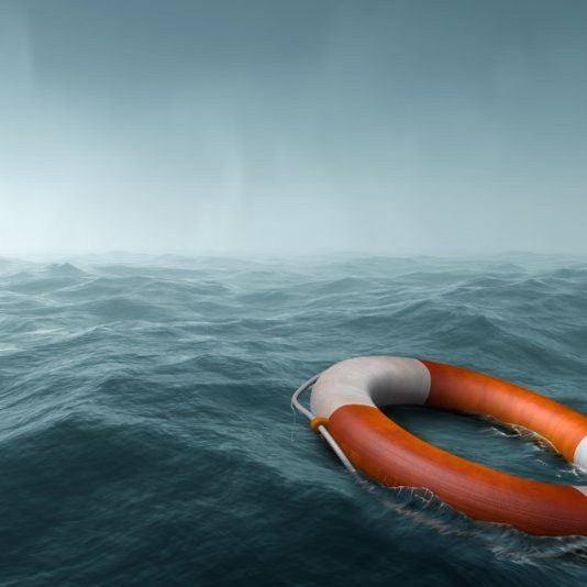 Stock Life Buoy Overboad