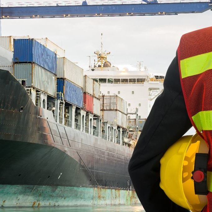 Stock Picture AMI Marine Man and Ship
